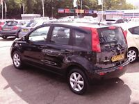 NISSAN NOTE ACENTA 1386cc 12 MONTHS M.O.T 6 MONTHS WARRANTY (FINANCE AVAILABLE)