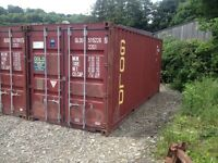 20ft Storage Container to Rent in Llandysul