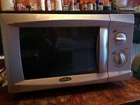 Cheap! Silver Microwave