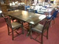 Lovely dining table & 4 chairs tcl 16019