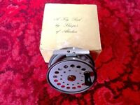 "SHARPE'S OF ABERDEEN 'THE GORDON' 3 3/4"" FLY REEL - UNMARKED - EXCELLENT - BOXED."