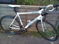 Carrera Virtuoso Road Bike. 54cm Frame. 16 Speed Claris gears. Mint condition