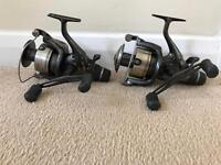 2 x Shimano 10000 xtea bait runner reels carp fishing