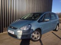 2010 Ford S-Max 1.8 TDCi Zetec 5Door 6Speed 7 Seats 1 Previous Owner 12 Months MOT Finance Available