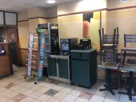 Subway store closed down- all appliances must go