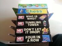 Board Games x 6 - Good Condition