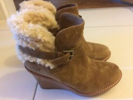 UGG Australia Ankle Boot. size 5.5 Brown