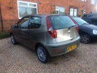 2006/06 Fiat punto 1.2 manual. Spotless. Full MOT