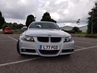 BMW 320d M Sport saloon, M Sport alloys plus sat nav
