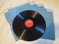 78 records, box of