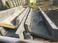 concrete channels from construction projects. Farming,Shed, Base, founds, slabs