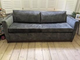Lombok Karlsson 2.5 Seater Sofabed in Jade Green