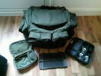 Fishing bags pouch and box