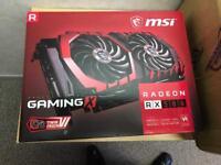 RX580 8gb Gaming X GPU (New in box)