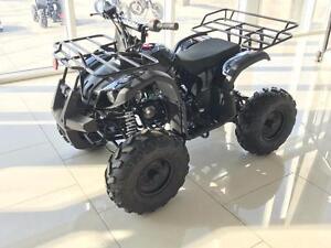 FREE SHIPPING New Venom 125cc Teen/Adult Gas ATV 4 stroke with Reverse - Big tires, Metal Racks, Remote Kill Switch