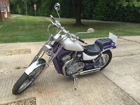 Rare and highly sought after Suzuki VS Intruder - 400C model; perfect for women and shorter riders!