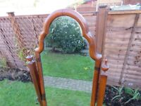 Antique Edwardian free-standing Cheval Mirror