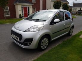 image for 2013 PEUGEOT 107 1.0 ACTIVE 5DR, ONLY 51K, EXCELLENT HISTORY, LOW INS & FREE TAX! Not aygo, polo
