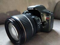 Canon 550D (Rebel T2i) DSLR Digital Camera Kit, 17-85 Canon IS lens, 70-300 Sigma Macro Lens, Tripod