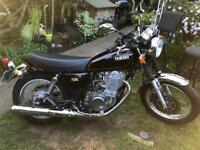 Yamaha SR400 extremely low miles