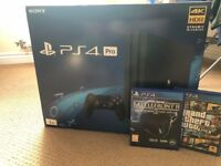 Great condition PS4 Pro 1TB