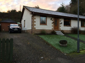 3 Bed Semi-Detached Bungalow, Braeface Park, Alness
