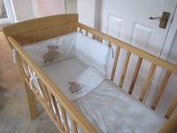 Baby crib.