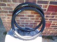 Bontrager mountainbike tyres