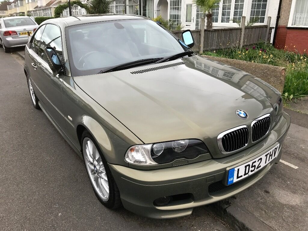 BMW 325 CI SPORT INDIVIDUAL E46 M3 COUPE SMG SSG GEARBOX
