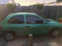 Vauxhall Corsa breeze 11 months mot new battery less than 1 year ago starts first time every time