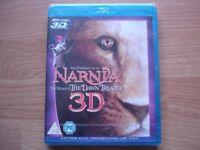 Narnia 3D Blu Ray DVD