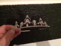 Beautiful tiara perfect for a wedding