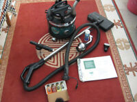 Vacuum cleaner Filter Queen Majestic Limited Edition with accessories