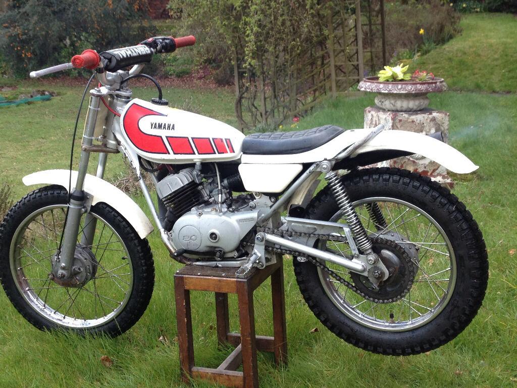 1975 yamaha ty80 ty 80 kids trials bike motorbike for Yamaha trials bike