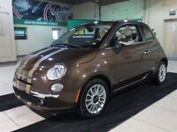 2013 Fiat 500 Lounge A/C CUIR TOIT MAGS