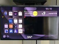 JVC 40 inch smart tv with freeview