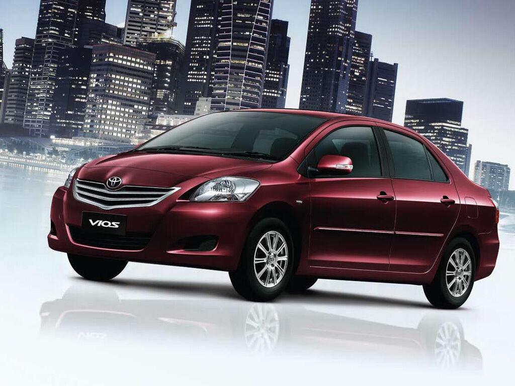Chrome Side Led Light Lamp Mirror Covers Trims For Toyota Yaris Sedan Hatchback