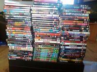 9 dvds +2 dvd games