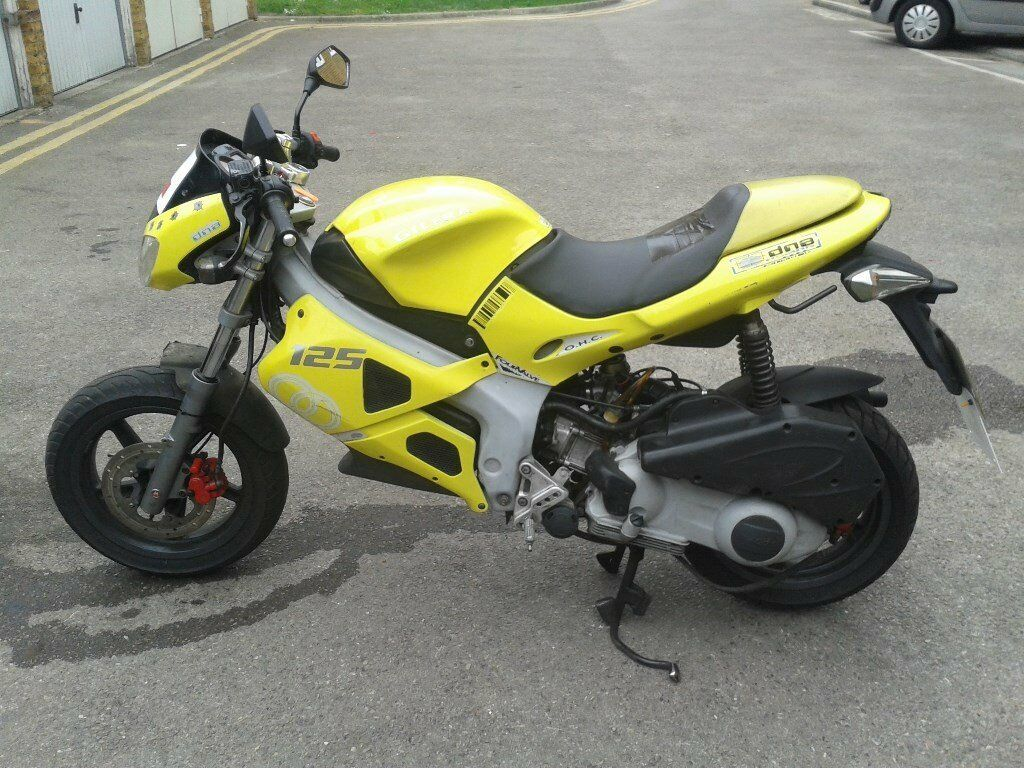 Gilera Dna 180 Reg As 125 In Elephant And Castle London