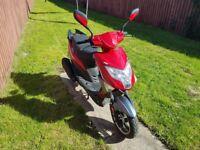 Lexmoto 50 cc scooter . 12 months mot