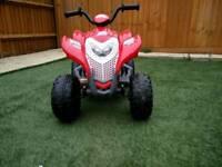 Red ATV 6V Ride on Bike - Geoby