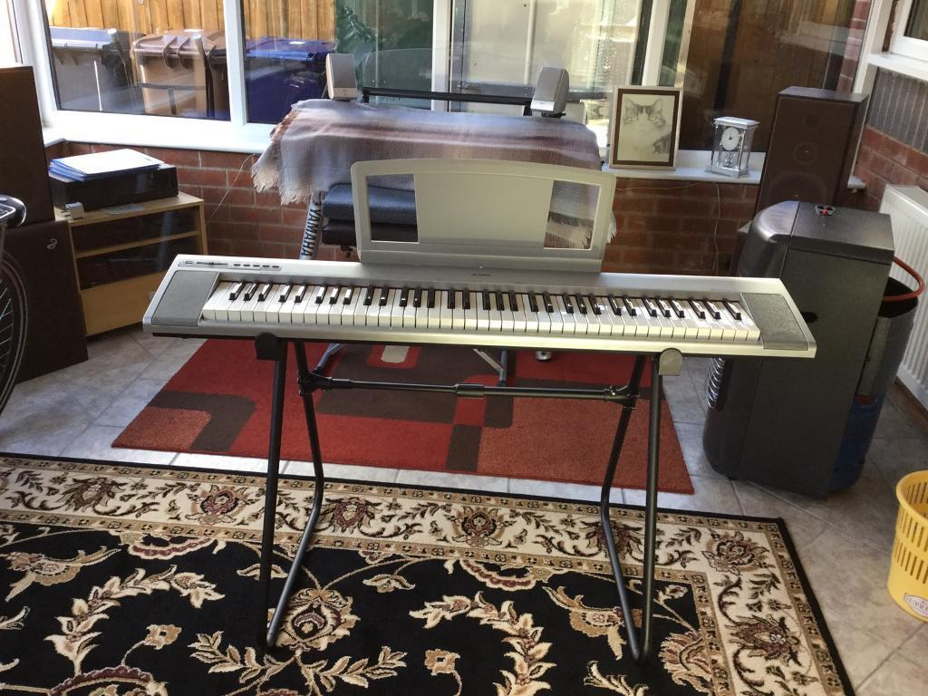 yamaha np30 electric piano 76 note keyboard includes power suppy music rest in lostock. Black Bedroom Furniture Sets. Home Design Ideas