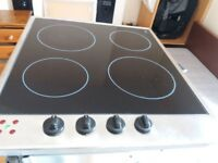 DIPLOMAT Ceramic Hob, 1yr old, rarely used, clean and in perfect working condition.
