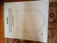 Brand New White Unused Toilet Seat