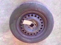 """2002-2009 FORD TRANSIT CONNECT 15"""" STEEL WHEEL WITH TYRE"""