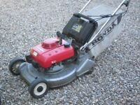 Honda HR2160 Roller 6hp 4 stroke Needs repair to linkage or spare parts