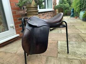 "Ideal Working Hunter Saddle 16.5"""