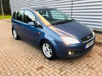 Ford Focus c max 1.6 tdci zetec in excellent condition full service history long mot till may 18