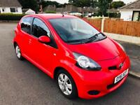 2011 TOYOTA AYGO 1.0 GO MODEL WITH BUILT IN SATNAV 80,000 MILES ONLY £20 ROAD TAX A YEAR