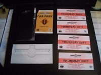 3 x Tickets for Goodwood Festive of Speed 2017 plus parking ticket